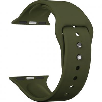 Ремешок Lyambda Altair для Apple Watch 38/40 мм Оливковый