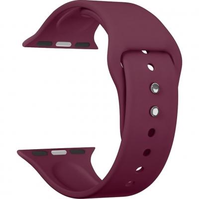 Ремешок  Lyambda Altair для Apple Watch 42 / 44 мм Винно-красный