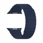 Ремешок Lyambda Pollux для Apple Watch 38/40 мм Dark Blue