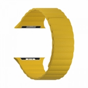 Ремешок Lyambda Pollux для Apple Watch 38/40 мм Yellow