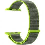 Ремешок Lyambda Vega для Apple Watch 38/40 мм Gray / Green