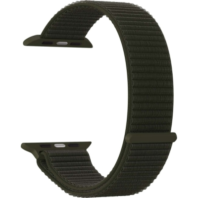 Нейлоновый ремешок Lyambda Vega для Apple Watch 38/40 мм Хаки