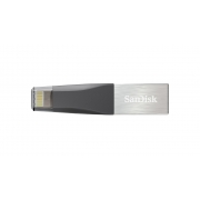 Внешний накопитель USB 3.0/Lightning SanDisk iXpand Flash Drive Mini 64Gb