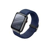 Ремешок Uniq для Apple Watch 40/38 mm ASPEN Strap Braided Blue