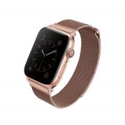 Ремешок для Apple Watch 42/44mm Uniq Dante Strap Steel Rose Gold