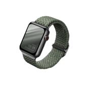 Ремешок Uniq для Apple Watch 40/38 mm ASPEN Strap Braided Green
