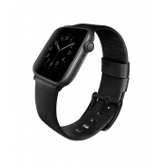 Ремешок для Apple Watch 42/44mm Uniq Mondain Strap Leather Black