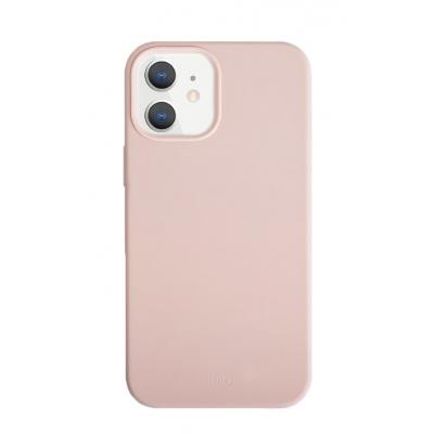 Защитный чехол Uniq Lino для iPhone 12 mini Розовый