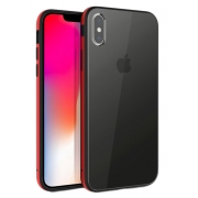 Чехол Uniq для iPhone XS Max Valencia Clear Red