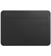Чехол для MacBook Pro 13 / Air 13 (2018/2019) WIWU Skin New Pro 2 Leather Sleeve Black