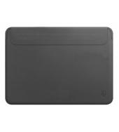 Чехол для MacBook Pro 16 WIWU Skin New Pro 2 Leather Sleeve Grey