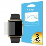 Комплект защитных пленок для Apple Watch 38mm SGP Crystal CR