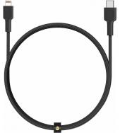 Кабель Aukey Braided Nylon USB-C to Lightning 2m Black