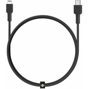 Кабель Aukey Braided Nylon USB-C to Lightning 1.2m Black