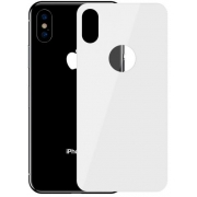 Защитное стекло Baseus Full Coverage Tempered Glass Rear Protector для iPhone Xs Max White