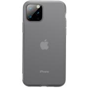 Защитный чехол Baseus Jelly Liquid Silica Gel для iPhone 11 Pro Transparent Black