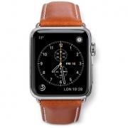 Кожаный ремешок Dbramante1928 Copenhagen для Apple Watch 38mm Brown