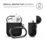 Силиконовый чехол для AirPods Elago Hang Case Черный