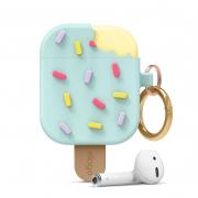 Чехол Elago Ice Cream Silicone Hang Case для AirPods Mint