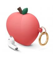 Чехол Elago Peach Silicone Hang case для AirPods Red