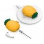 Силиконовый чехол Elago Pineapple Silicone Hang Сase для AirPods Желтый
