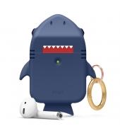Чехол Elago Shark Silicone Hang case для AirPods Jean Indigo
