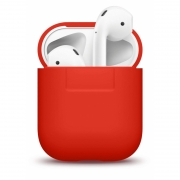 Чехол Elago для AirPods Silicone Case Red