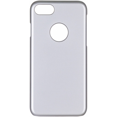 Чехол для iPhone 8/7 iCover Rubber Серебристый