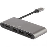 Адаптер Moshi 2-Port USB 3.0 Type-C with HDMI and SDXC