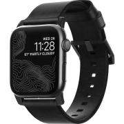 Ремешок Nomad Modern Strap для Apple Watch 42mm / 44mm Black / Black