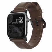 Ремешок Nomad Traditional Strap для Apple Watch 38mm / 40mm Black / Brown