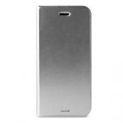 Чехол-книжка для iPhone 6 / 6S Puro Custodia Booklet Silver