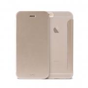 Чехол-книжка для iPhone 6 / 6S Puro Booklet Crystal Gold