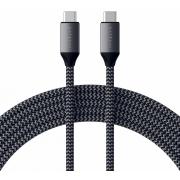 Кабель Satechi USB-C to USB-C 100W 2m Grey