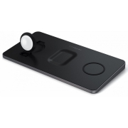 Беспроводное зарядное устройство Satechi Trio Wireless Charging Pad Black