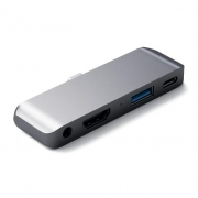 Адаптер Satechi Aluminum Type-C Mobile Pro Hub Space Gray