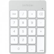 Беспроводной цифровой блок Satechi Aluminum Slim Keypad Numpad Silver