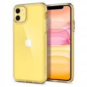 Защитный чехол Spigen Ultra Hybrid для iPhone 11 Crystal Clear
