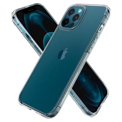 Защитный чехол для iPhone 12 Pro Max Spigen Ultra Hybrid Прозрачный