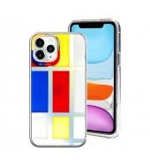 Защитный чехол SwitchEasy Artist для iPhone 12 / 12 Pro Mondrian