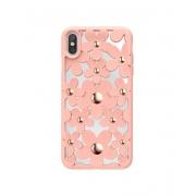 Чехол SwitchEasy Fleur для iPhone XS Max Pink